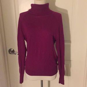 J Crew purple/magenta sweater